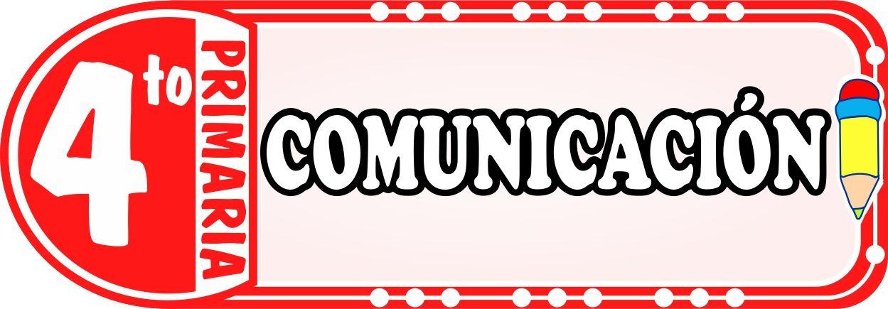 Comunicacion para Cuarto de Primaria - Fichas de Trabajo