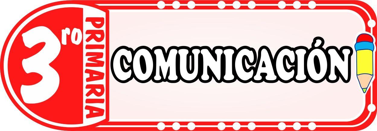 Comunicacion para Tercero de Primaria - Fichas de Trabajo