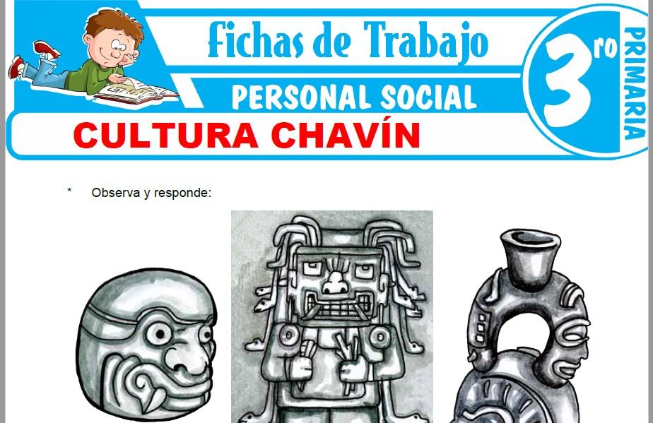 Cultura Chavín para Tercero de Primaria