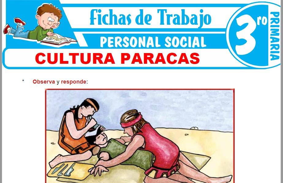 Modelos de la Ficha de Cultura Paracas para Tercero de Primaria
