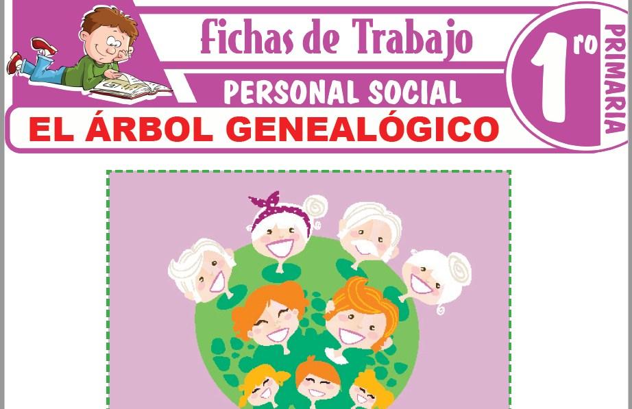 Modelos de la Ficha de El árbol genealógico para Primero de Primaria