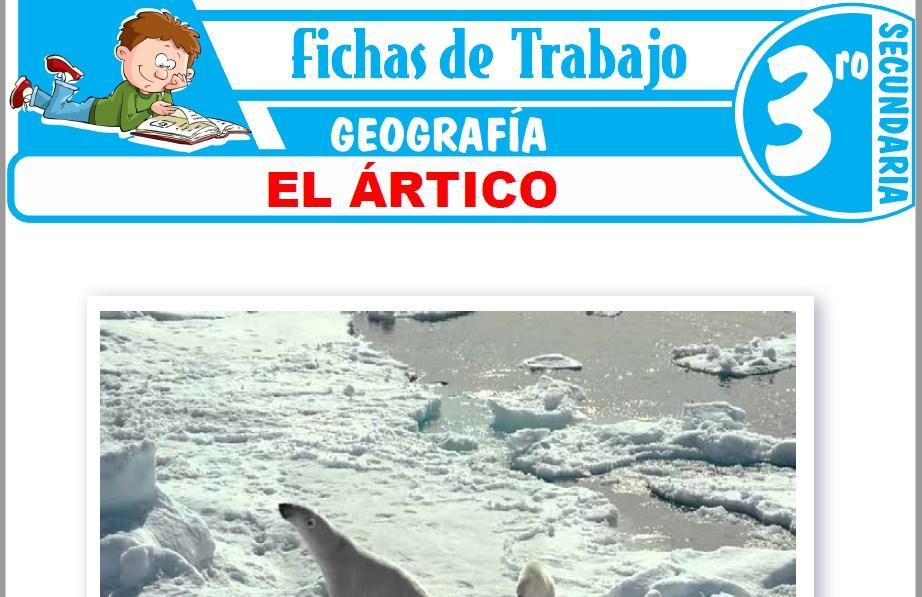 Modelos de la Ficha de El Ártico para Tercero de Secundaria
