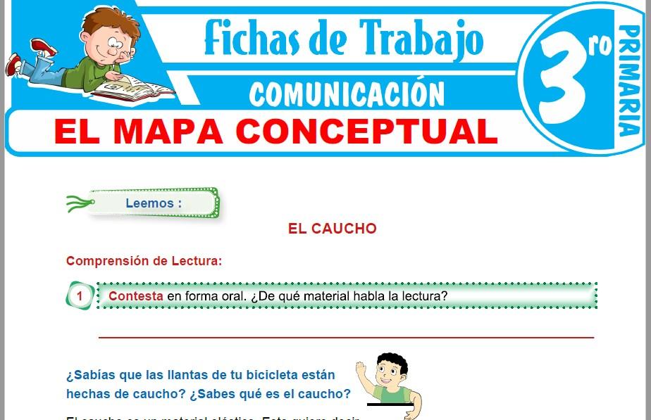 Modelos de la Ficha de El mapa conceptual para Tercero de Primaria