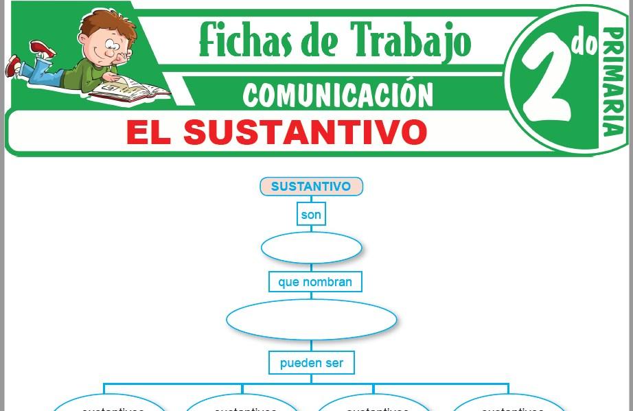 Modelos de la Ficha de El sustantivo para Segundo de Primaria