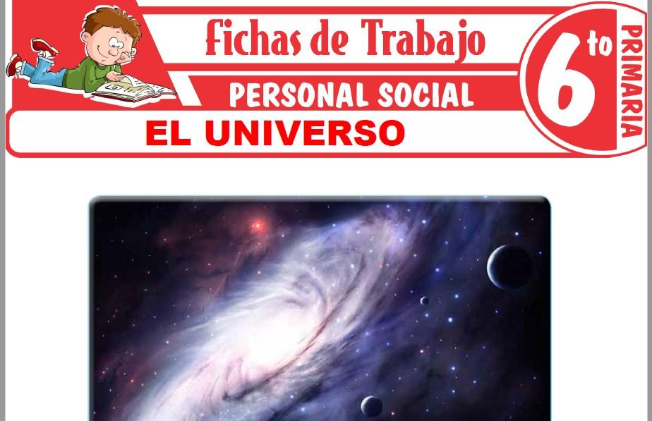 Modelos de la Ficha de El universo para Sexto de Primaria