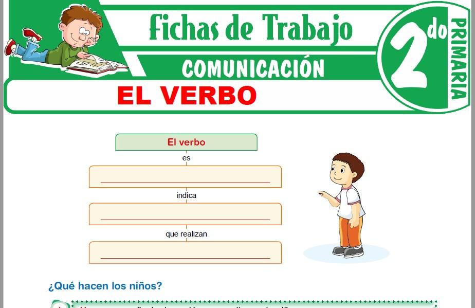 Modelos de la Ficha de El verbo para Segundo de Primaria