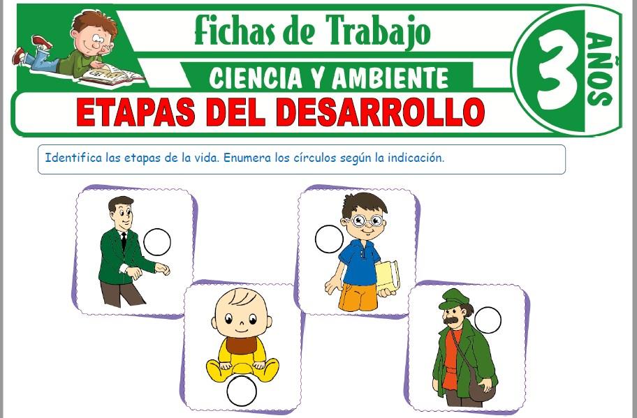 Modelos de la Ficha de Etapas del desarrollo para Niños de Tres Años