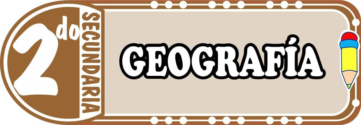 Geografia Para Segundo de Secundaria Fichas de Trabajo