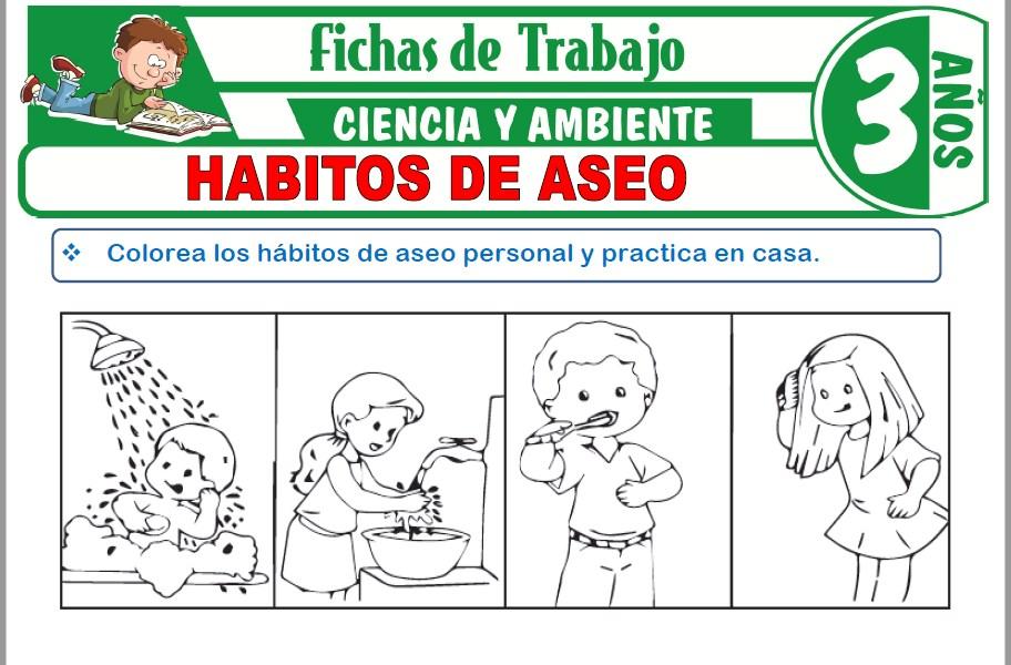 Hábitos de aseo para Niños de Tres Años