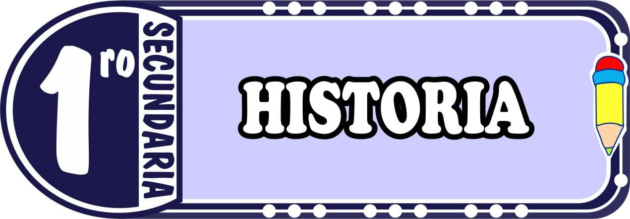 Historia Para Primero de Secundaria Fichas de Trabajo