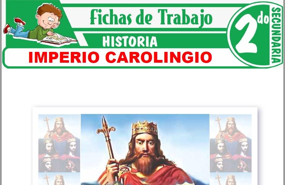 Modelos de la Ficha de Imperio Carolingio para Segundo de Secundaria