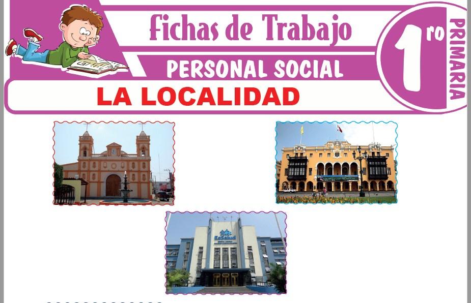 Modelos de la Ficha de La Localidad para Primero de Primaria