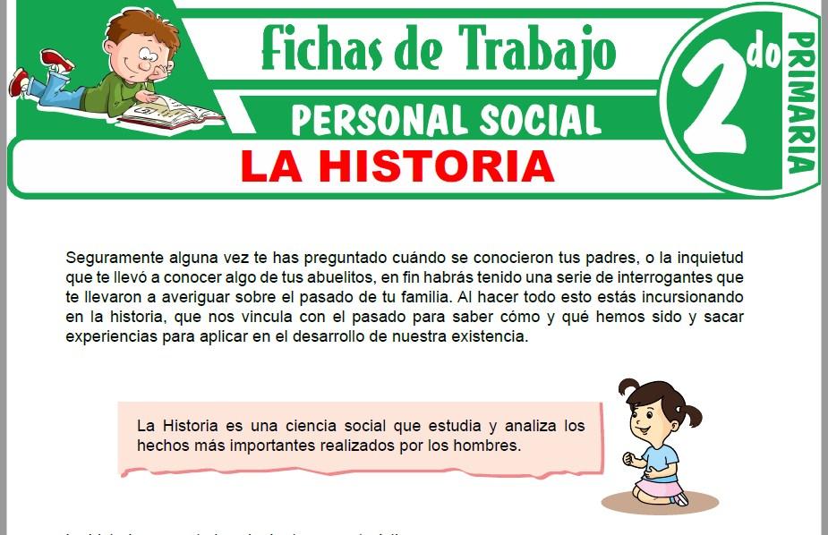 Modelos de la Ficha de La historia para Segundo de Primaria