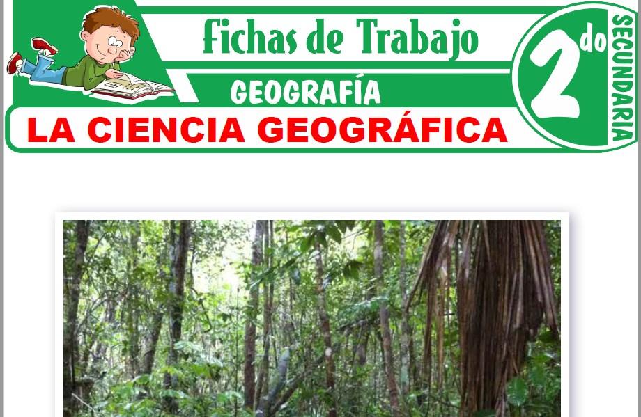 Modelos de la Ficha de La teoría geográfica para Segundo de Secundaria