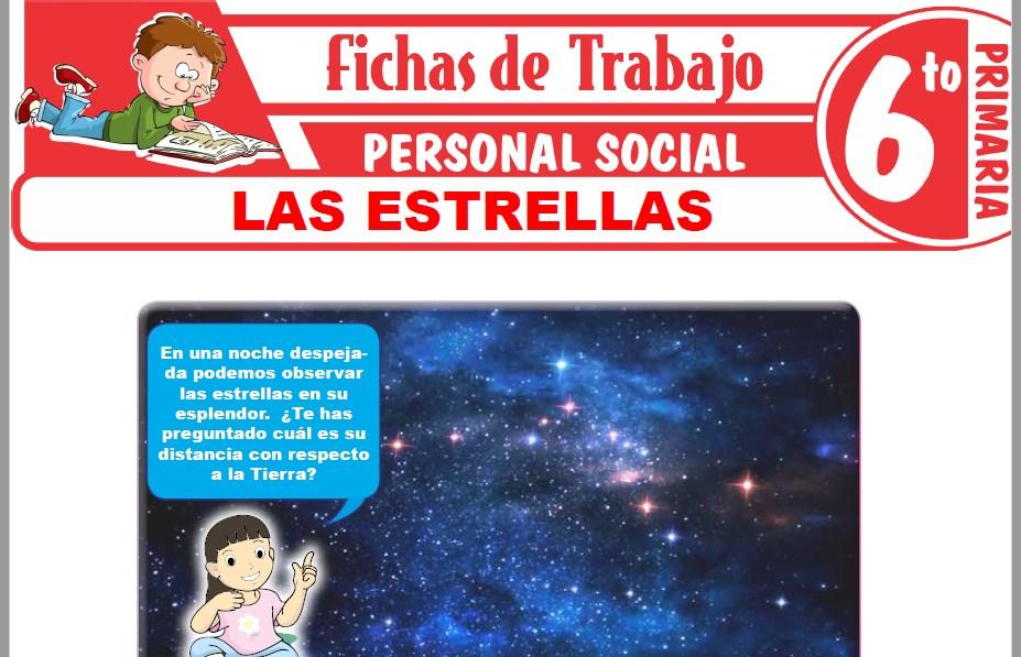 Modelos de la Ficha de Las estrellas para Sexto de Primaria