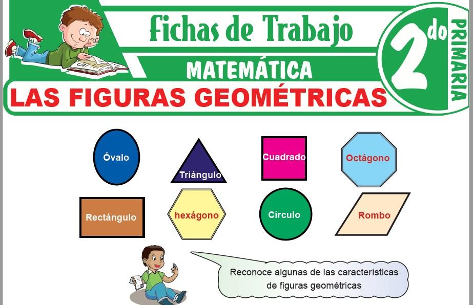 Modelos de la Ficha de Las figuras geométricas para Segundo de Primaria