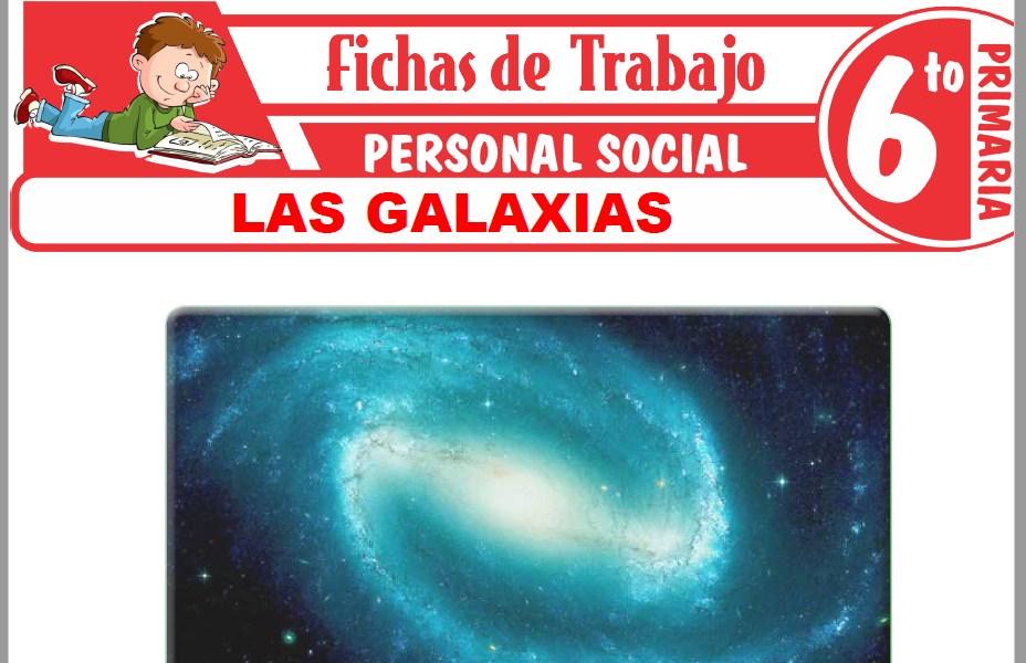 Modelos de la Ficha de Las galaxias para Sexto de Primaria