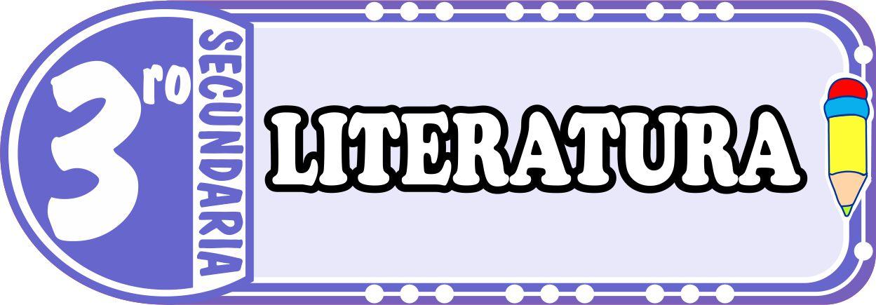 Literatura para Tercero de Secundaria Fichas de Trabajo