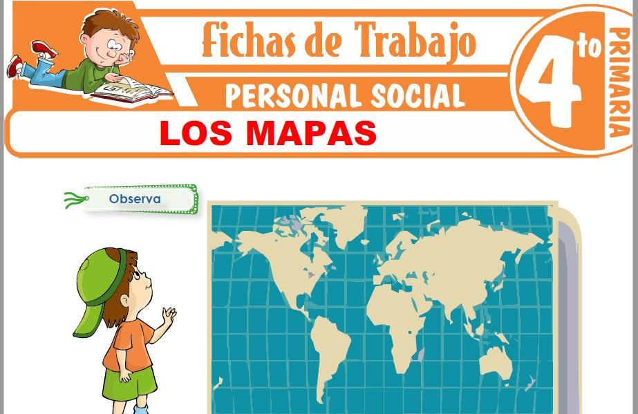 Los Mapas para Cuarto de Primaria