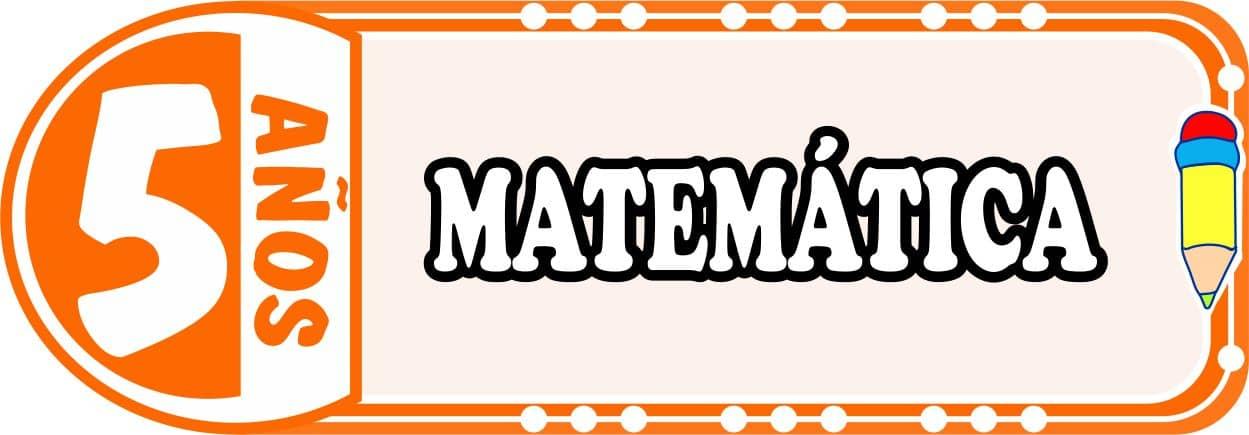Matemática para Niños de Cinco Años