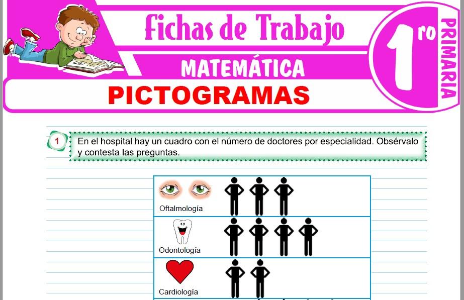 Modelos de la Ficha de Pictogramas para Primero de Primaria