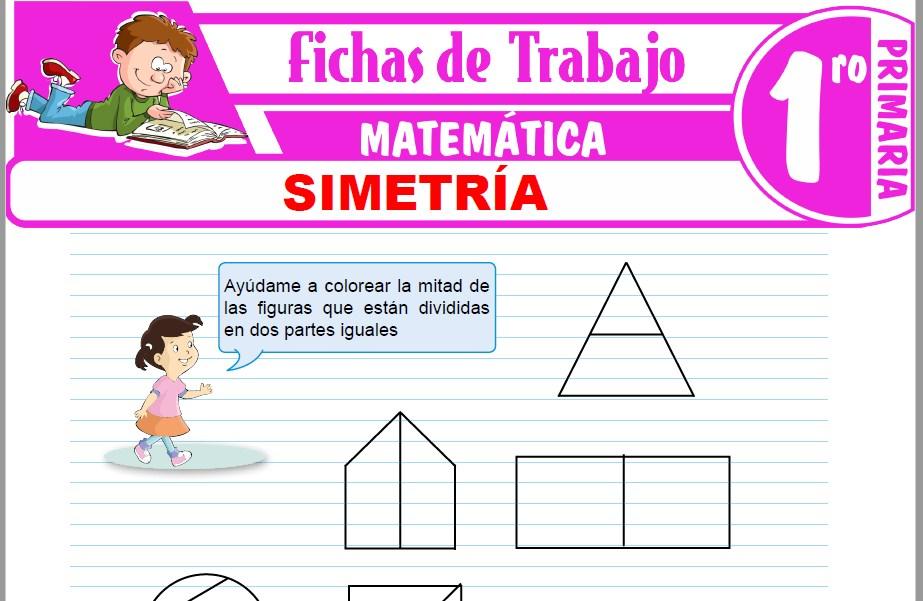 Modelos de la Ficha de Simetría para Primero de Primaria